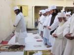 Namaz-e-asar before sarkari chadar at the 10th urs of FASAHAT MIYAN HUZUR
